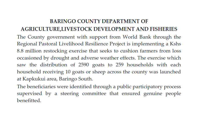 Baring County Restocking Programme by WorldBank 001