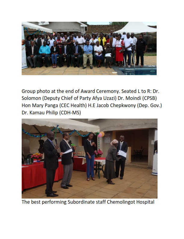 Department of Health Award Ceremony 005