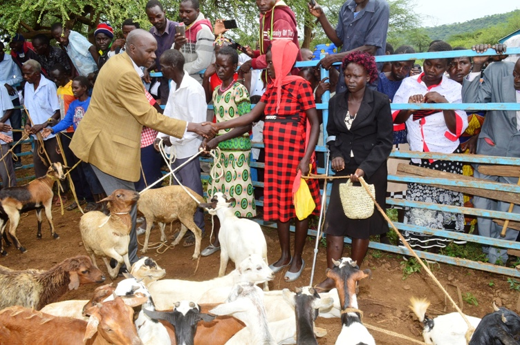 BARINGO COUNTY RESTOCKING  PROGRAMME IN PARTNERSHIP WITH WORLD BANK