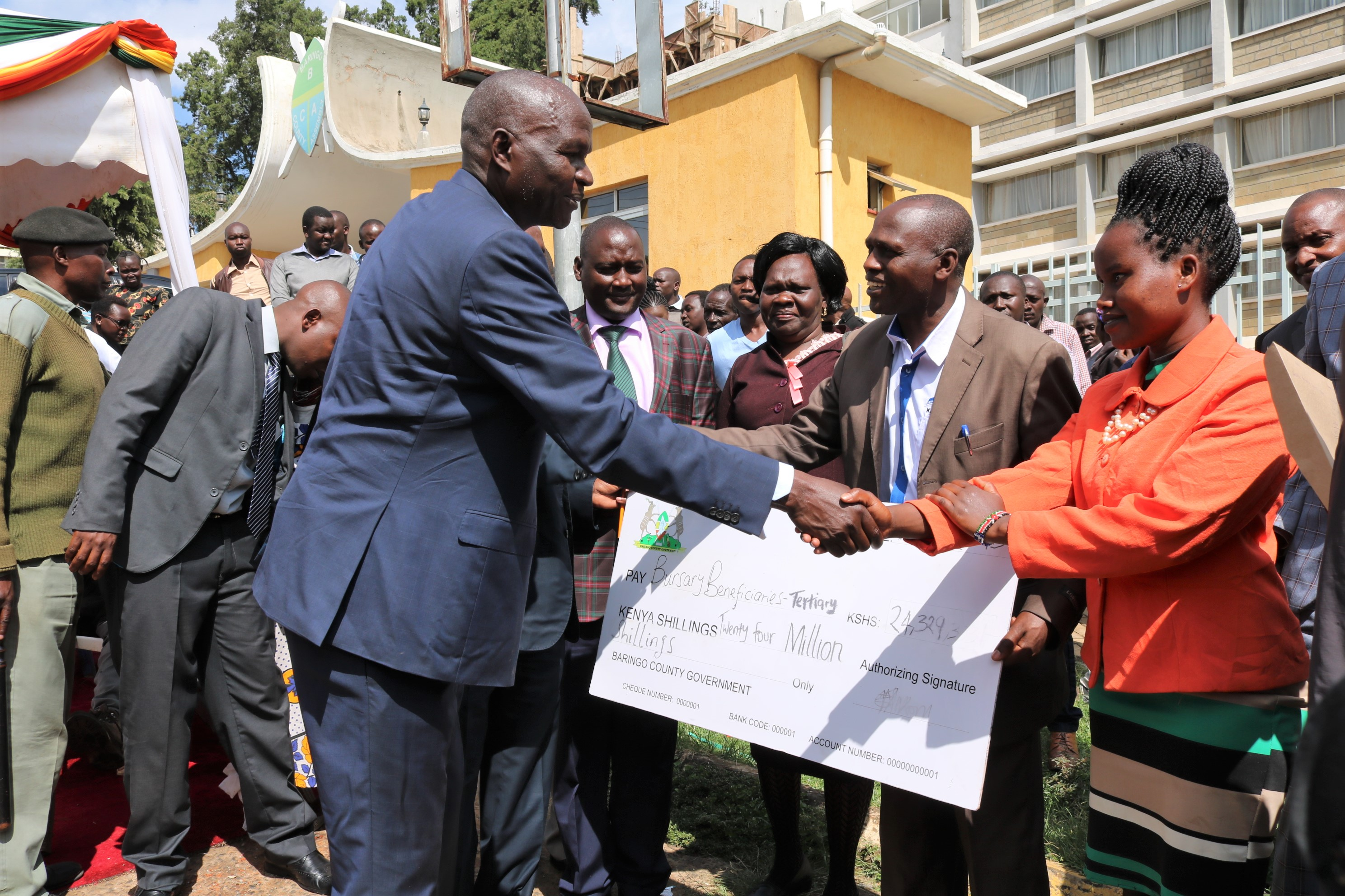 Baringocountygovernmentdisburses Khs24 Million Bursary