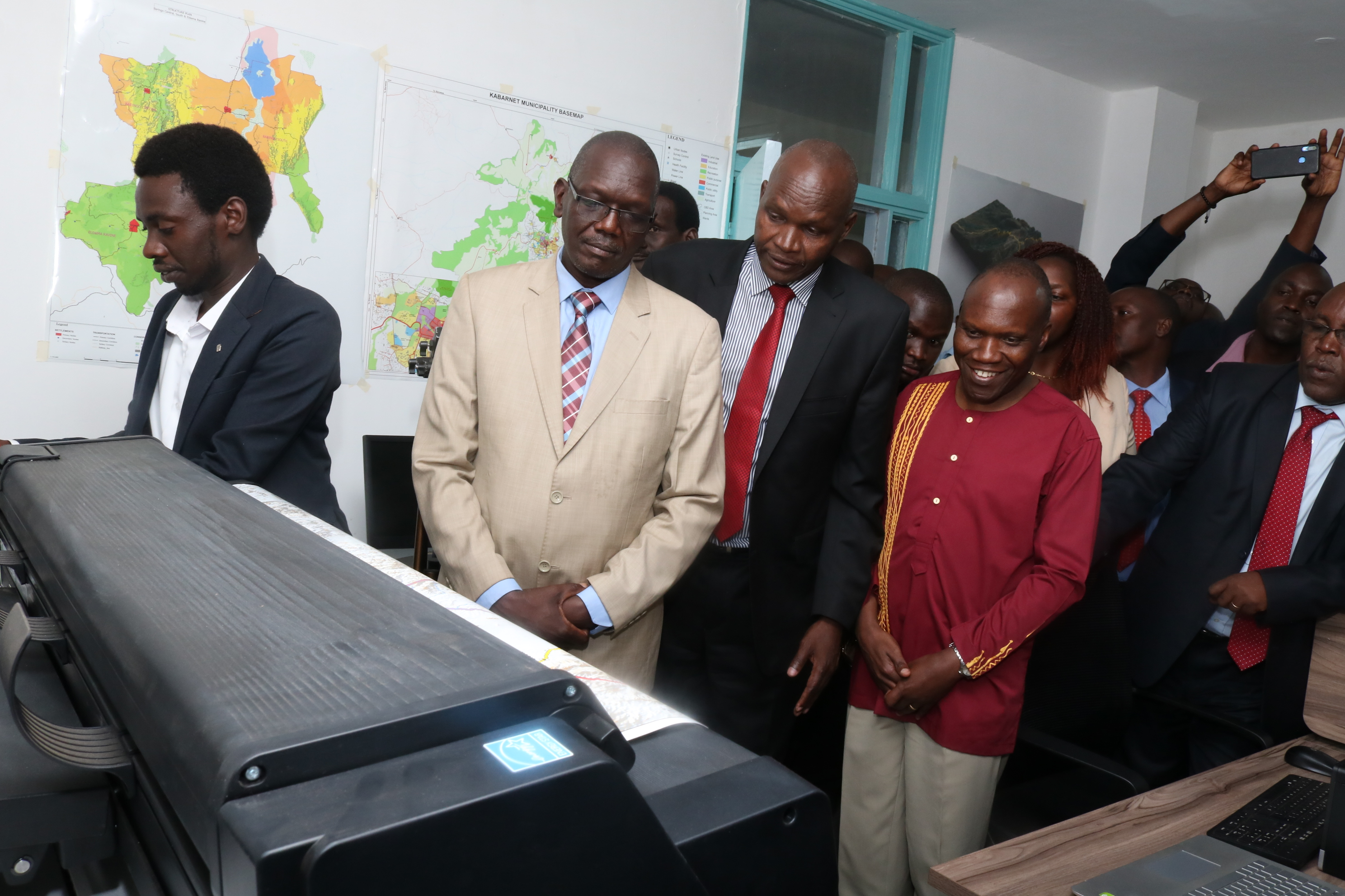 Launching of Baringo County Geographical Information System (GIS)Lab