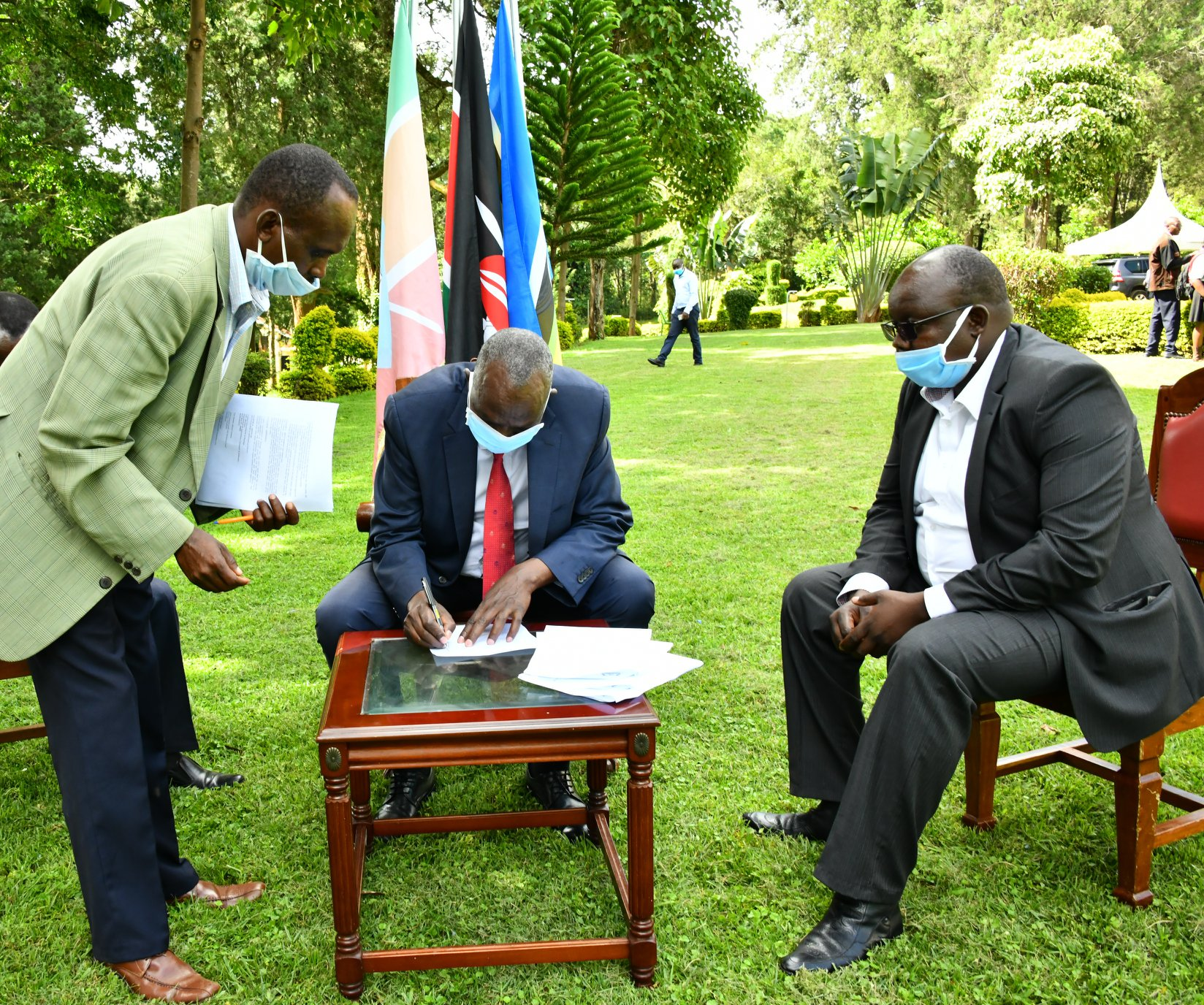 Baringo County Government signs an MOU with Slovakia Government to support Macadamia farmers